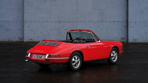 The First Porsche 911 Cabriolet Goes Up for Auction