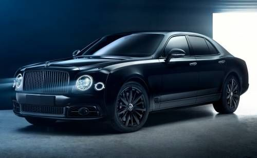 Bamford X Mulsanne Speed by Mulliner Is the Darkest Bentley Ever