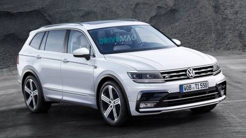 Stretched Volkswagen Tiguan Allspace Coming to Detroit with Room for Seven