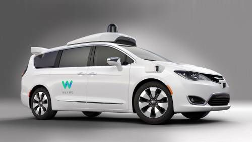 Google's Waymo Reveals Chrysler Pacifica-Based Autonomous Car