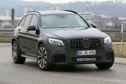 Here's Proof Mercedes-AMG Is Working on a GLC 63 High-Performance SUV