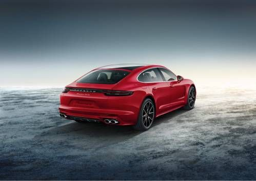 Panamera Turbo Executive by Porsche Exclusive is a $200,000 Red Dream