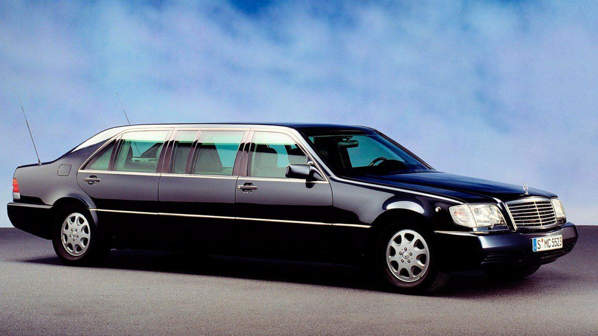 putin's mercedes s600 pullman guard w140 armored limo for sale