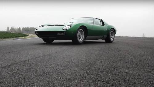 Superbly Restored Lamborghini Miura SV Meets the Track, Wins Our Hearts