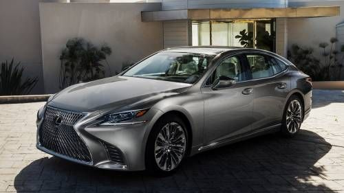 2018 Lexus LS Sports Twin-Turbo V6, 415 HP and 10-Speed Auto at NAIAS