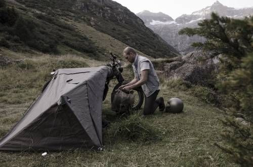 The Ultimate Moto-Hipster Camping Gear