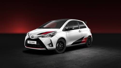 Toyota Reveals Yaris Facelift and 210+HP Hot Hatch