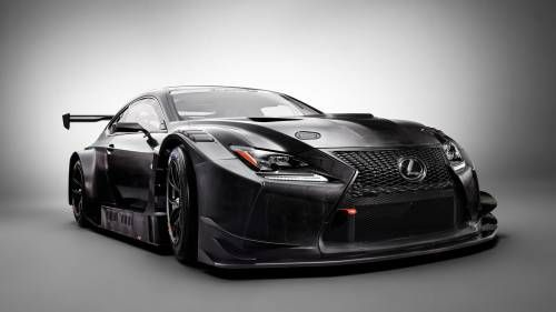 2017 Lexus RC F GT3 Looks Like a Carbon-Fiber Plated, Race-Ready Katana