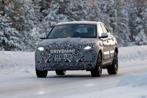 All-New 2018 Jaguar E-Pace Crossover Undergoes Winter Testing