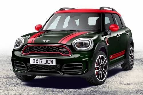 All-New 2018 MINI John Cooper Works Countryman Grows More Muscle