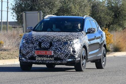 Facelifted 2018 Nissan Qashqai Spied Testing Self-Driving Tech in Spain