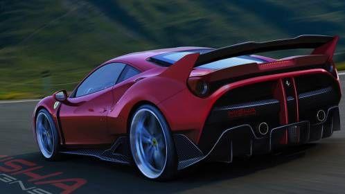 Misha Designs Gives Ferrari 488 GTB FXX-Like Body Treatment