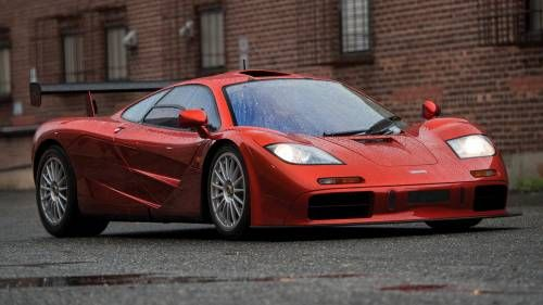 Get Drunk in Awe on the Shapes and Details of the McLaren F1 LM