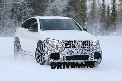 Mercedes Spotted Testing Super Hot GLC63 AMG Coupe
