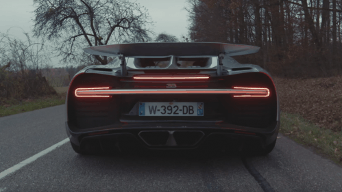 Watch the Bugatti Chiron Stretch Its Muscles in This Beautiful Video
