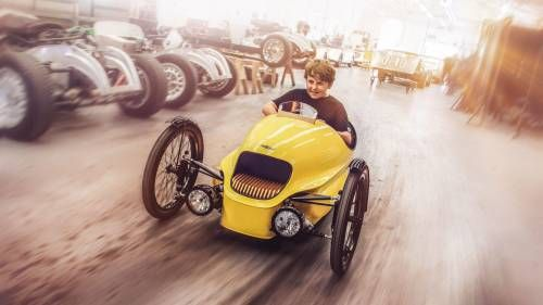 Morgan Launches EV3 Junior for Kids