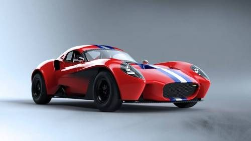 Jannarelly's Design-1 Comes as Roadster and Coupé, But You Want the Latter