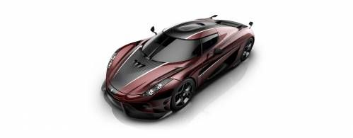 Red Carbon Koenigsegg Regera Is a Tribute to the Flag of Denmark