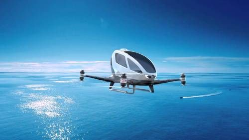 Flying Cars Become a Reality in Dubai