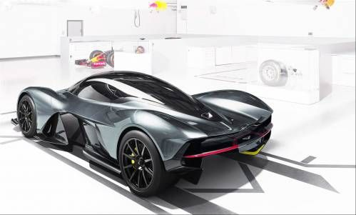 AM-RB 001 To Get Cosworth V12 Heart, Ricardo 7-Speed Gearbox, Rimac Battery System