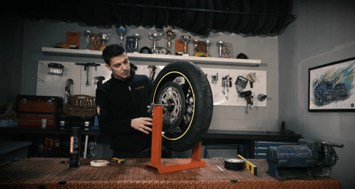 How to Balance a Motorcycle Wheel - Video Tutorial