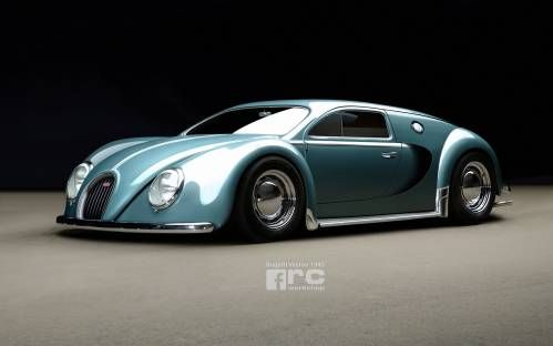 Spectacular: How a 1945 Bugatti Could Have Looked