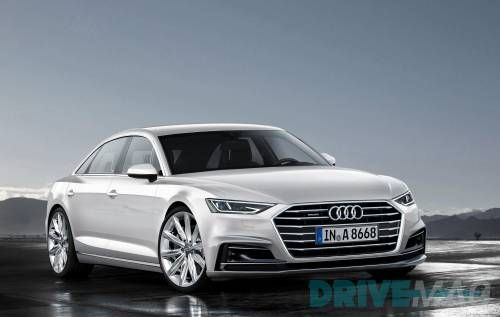 We Have the Very First Image of the Future Audi A8