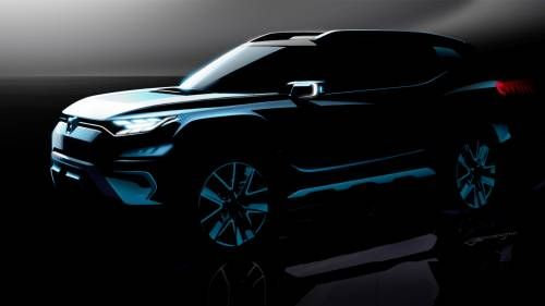 SsangYong's XAVL Concept to Debut in Geneva with SUV Looks, MPV Practicality
