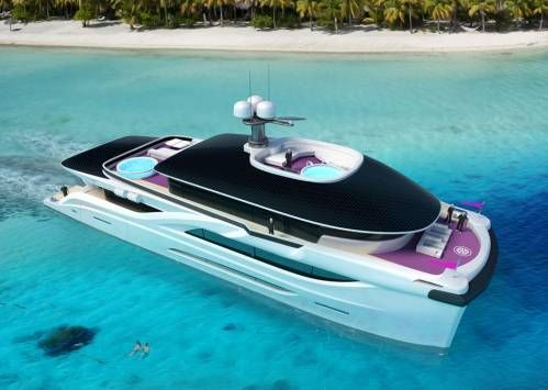 Solar Dream is a 42m Eco-Friendly Catamaran Concept