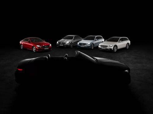 2018 Mercedes-Benz E-Class Cabriolet Teased Before Geneva 2017 Debut
