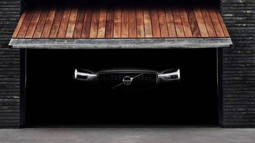 Volvo Reveals Next XC60 via Headlights Teaser