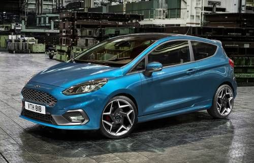 2018 Ford Fiesta ST Switches to Three-Cylinder 1.5L EcoBoost, Matches ST200 for Power