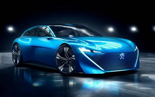 Peugeot Instinct Is a 296 HP Autonomous Plug-In Hybrid Concept with AWD