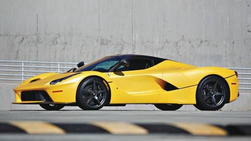 Yellow LaFerrari Is Estimated at $4.5M