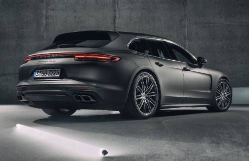 2018 Porsche Panamera Sport Turismo Is the Brand's First, Sexiest Wagon