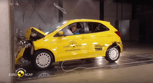 Fiat 500, Ford Ka+ Secure Only Mediocre Three-Star Euro NCAP Safety Ratings