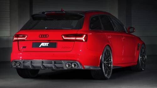 ABT Tempts the Family Man With this Devilish Red RS6+