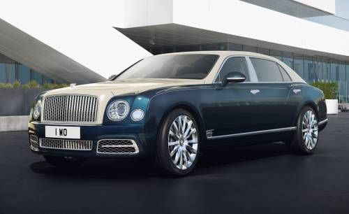 Bentley Mulsanne Hallmark Series by Mulliner Brings Bling to Geneva