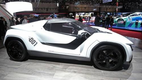 Racemo Is Tata Motors' Idea of a Mid-Engined Italian-Styled Sports Car