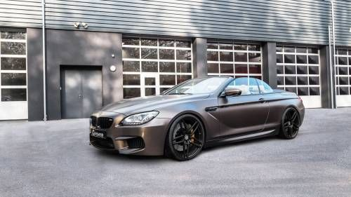 G-Power Boosts BMW M6 Convertible's Power to 789 HP