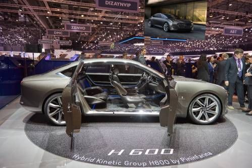 Hybrid Kinetic Group H600 Is an 805 HP Pininfarina-Designed EV That Doesn't Need Charging