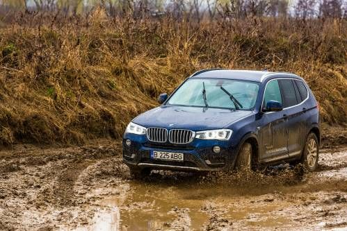 We Put BMW's xDrive to the Test in the Mud