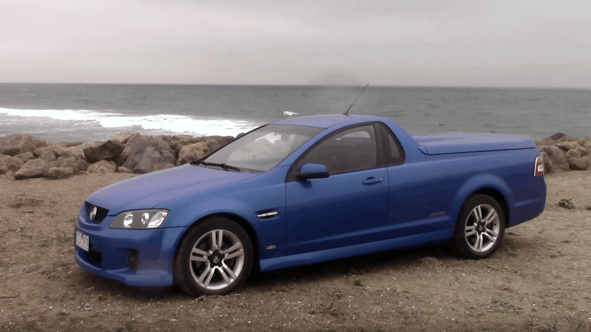 You Can Drive a Fully Legal, Left-Hand Drive Holden Ute in