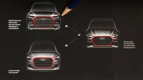 This Is the Next Production Evolution of the Audi Family Face