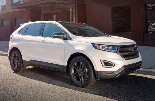 2018 Ford Edge Gains Stylish SEL Sport Appearance Package