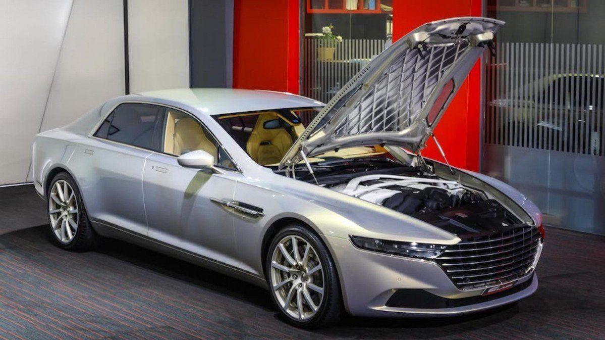 Rare Aston Martin Lagonda Taraf Pops Up For Sale In Dubai