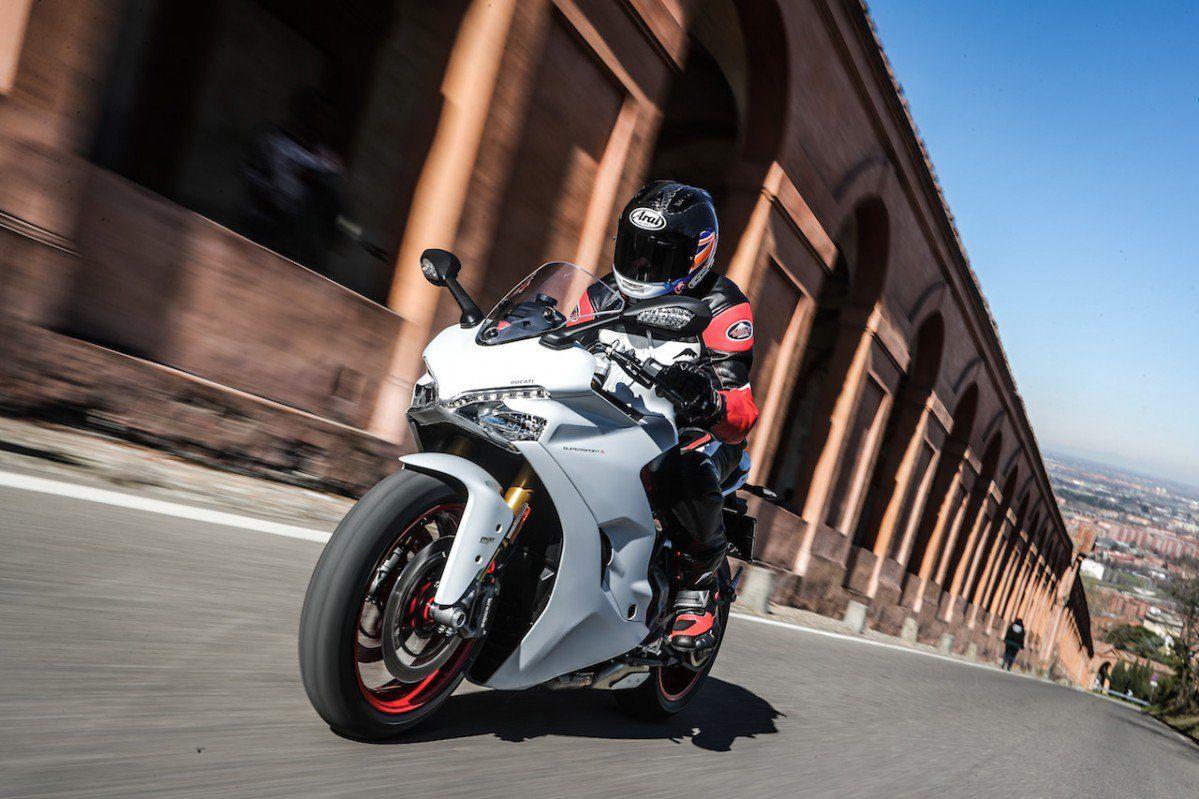 Ducati Supersport S Road Test Real World Sportbiking