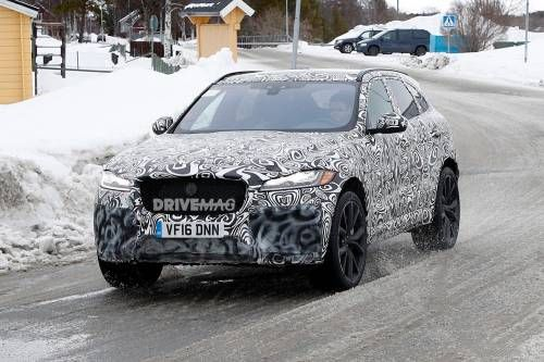 2018 Jaguar F-Pace SVR Spied Flexing Its Muscles