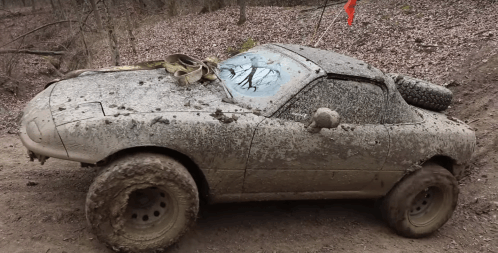 Don't You Wish Your Mazda Miata Was This Rough?