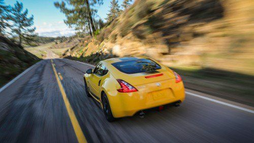 Nissan adds more stripes on the 370Z, but not a single extra horsepower